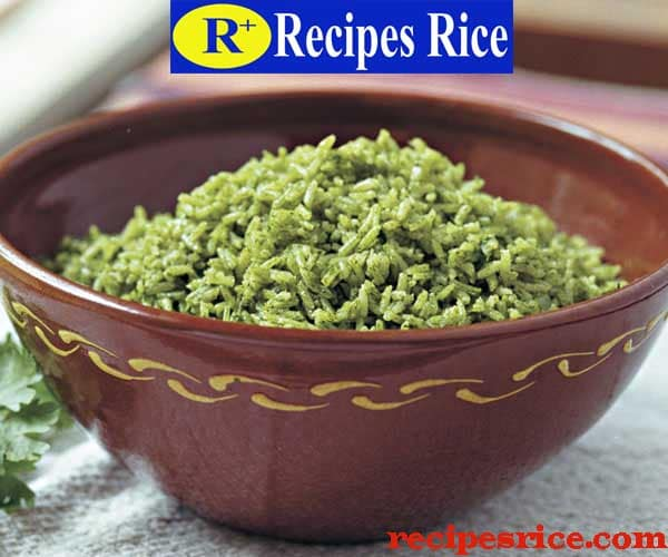 southwest green rice