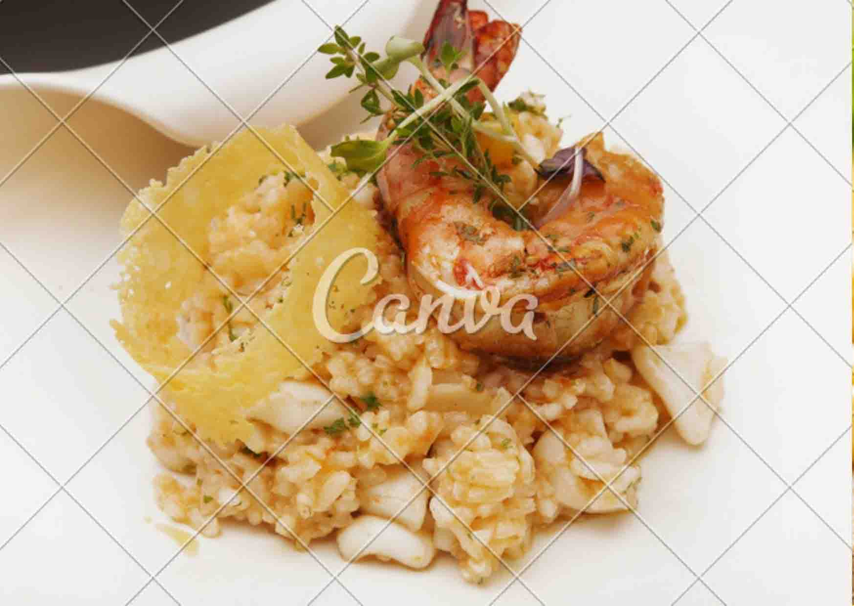 genoese seafood risotto recipe