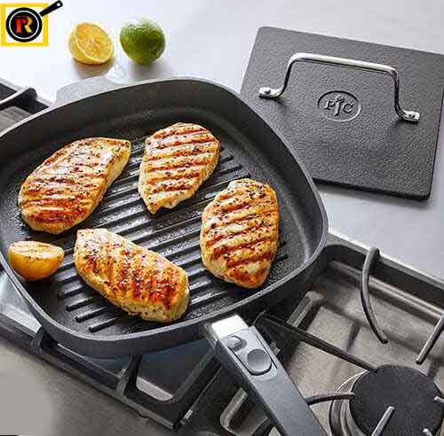 can you use a grill pan on an electric stove